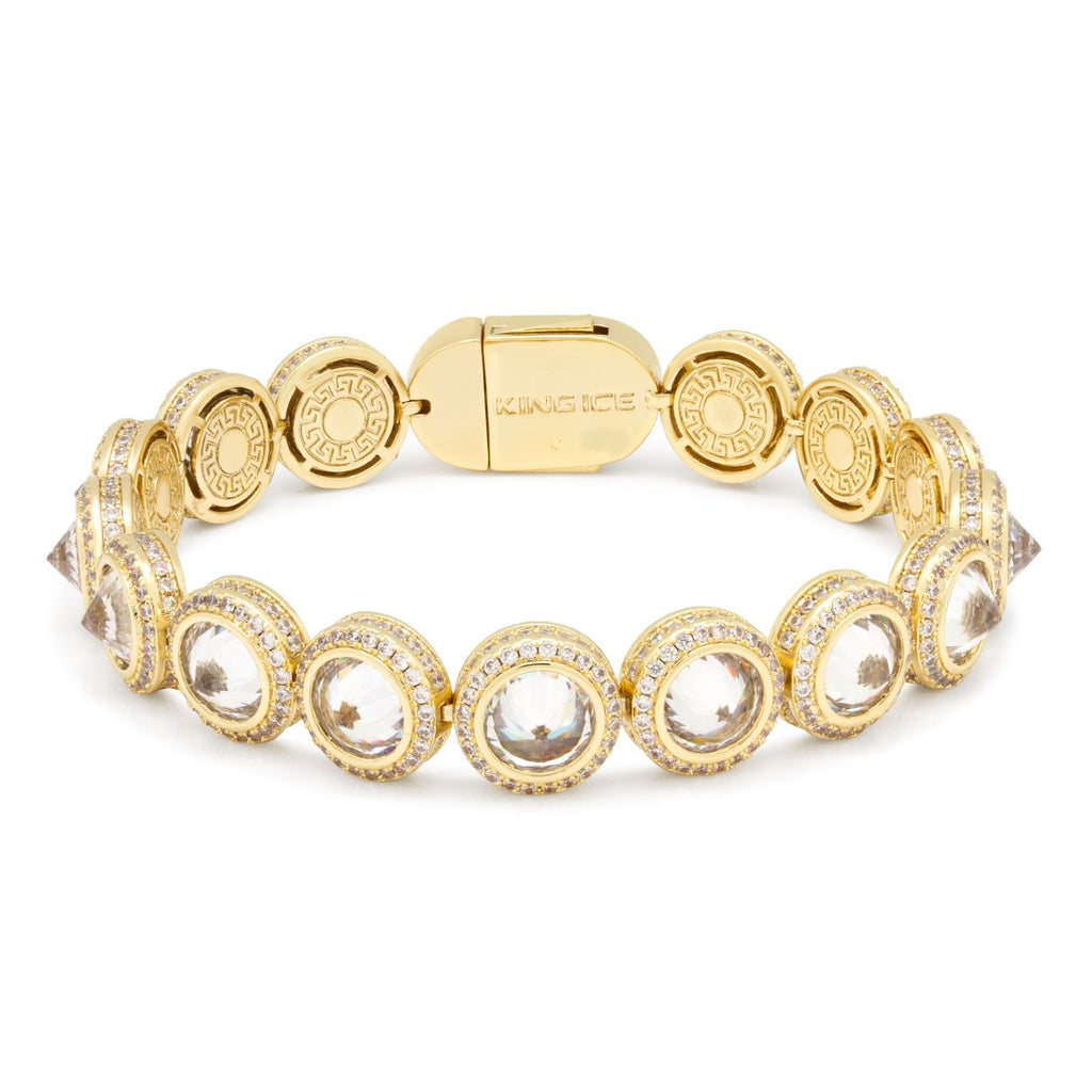 Spike Studded Tennis Bracelet