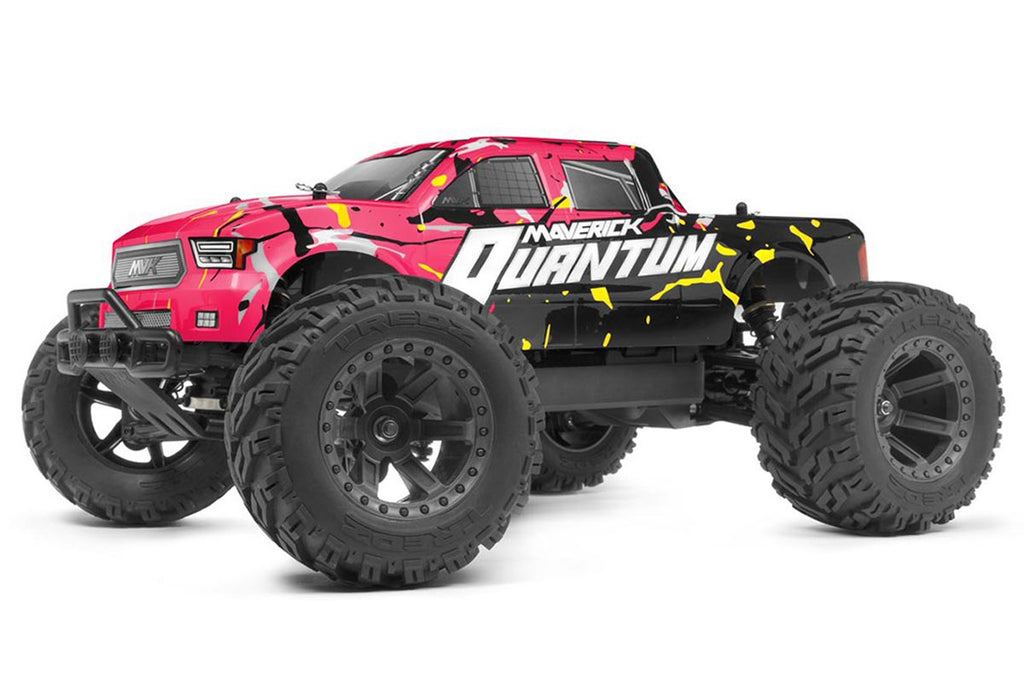 Maverick Quantum MT 1/10 Monster Truck Pink
