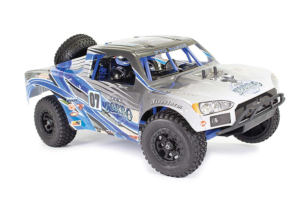FTX Zorro 1/10 Brushed Trophy Truck RTR Blue