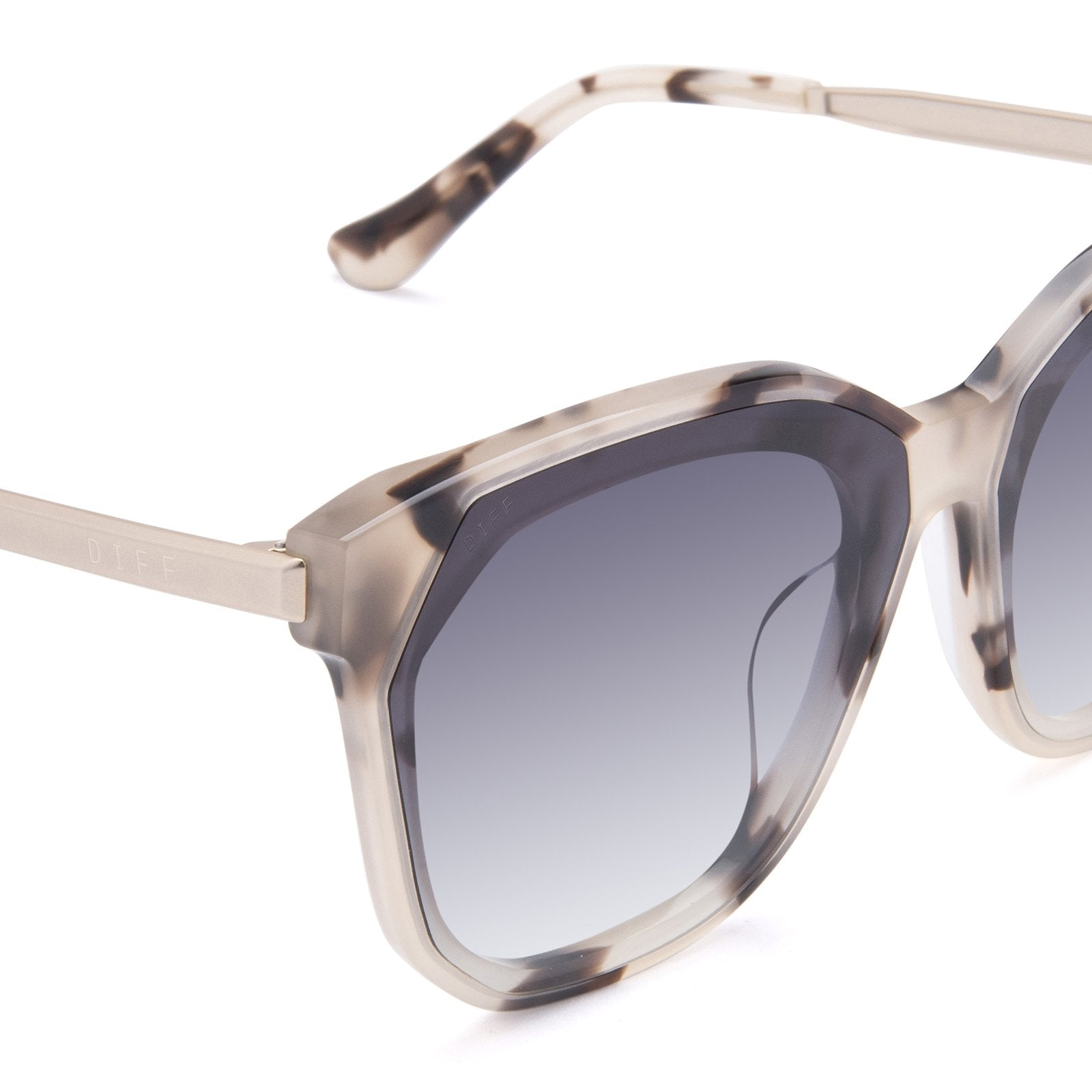 GIA II - CREAM TORTOISE + GREY GRADIENT