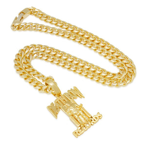 Death Row Records x King Ice - Death Row Necklace