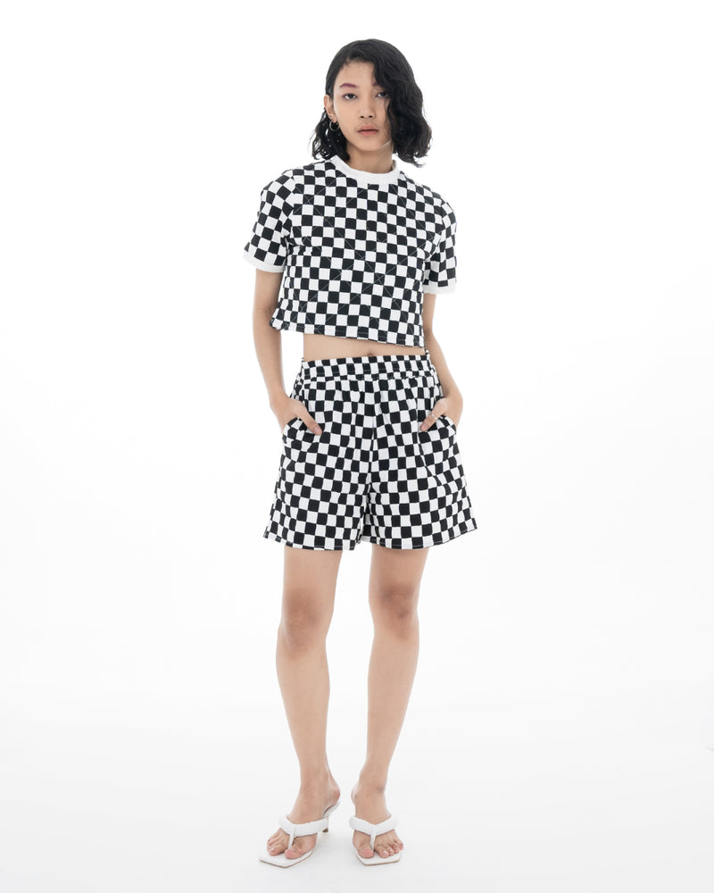 Plaid Bob Short