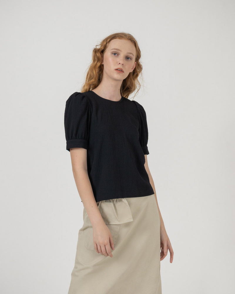 Black Namita Top