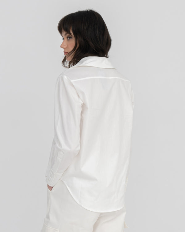 Callie by Obie Patch White-man Shirt