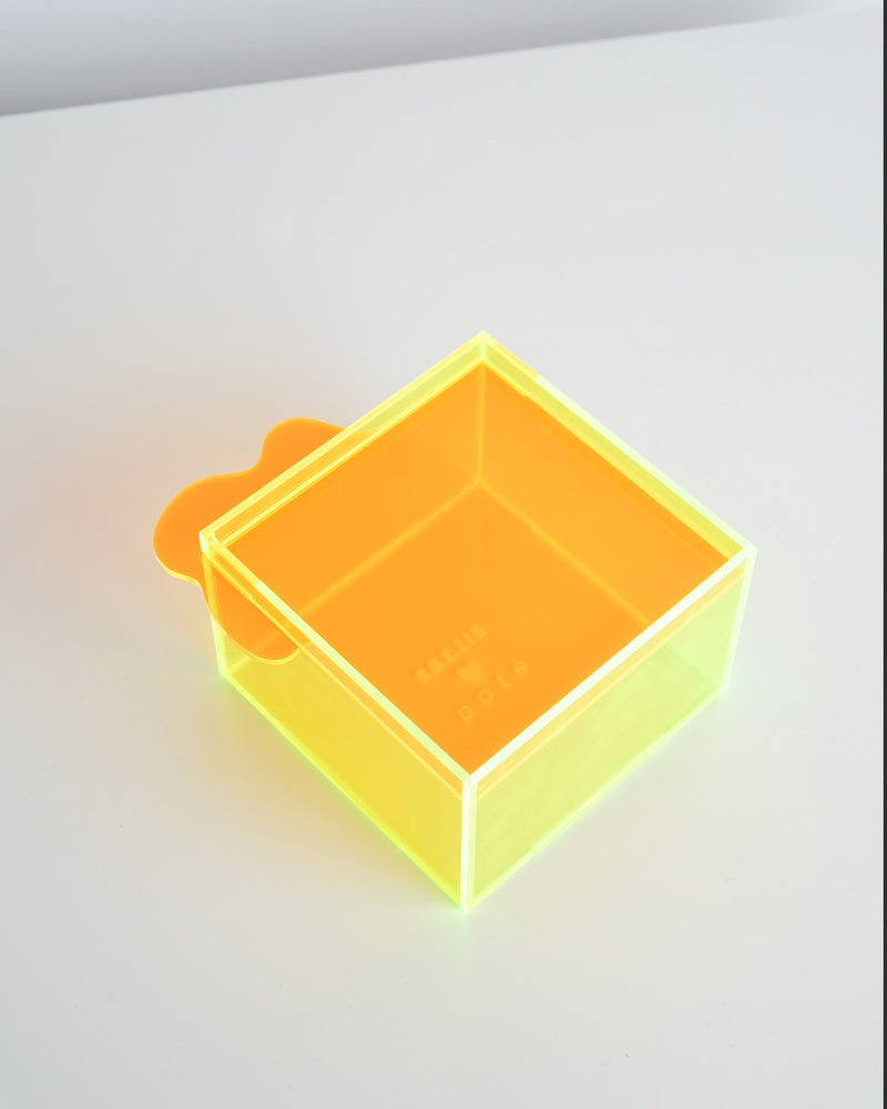 Callie x Potè Studio Jewelry Box (Neon Green - Neon Yellow)