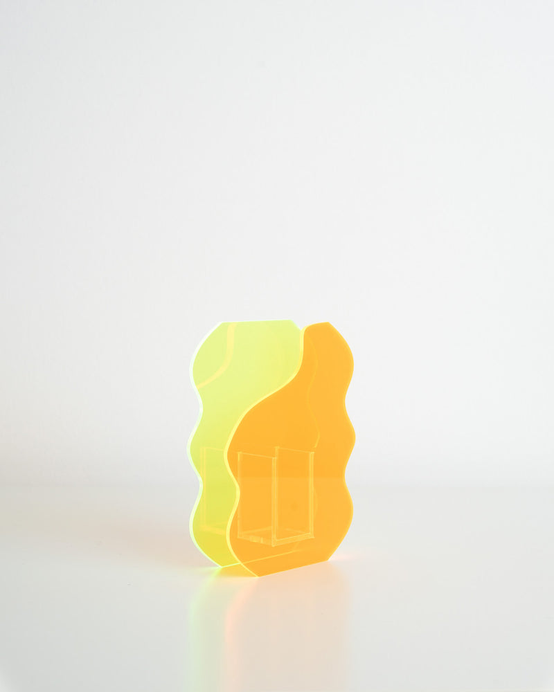 Callie x Potè Studio Vase (Neon Green - Orange)