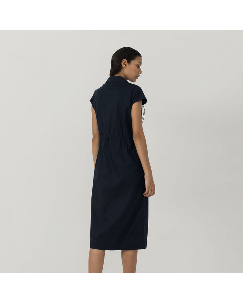 Navy Denise Dress