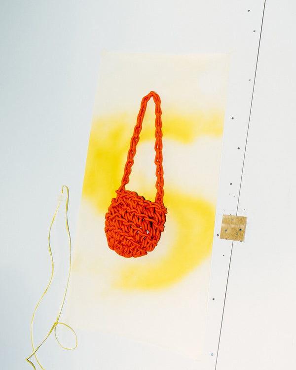 Orange Brooklyn Bag