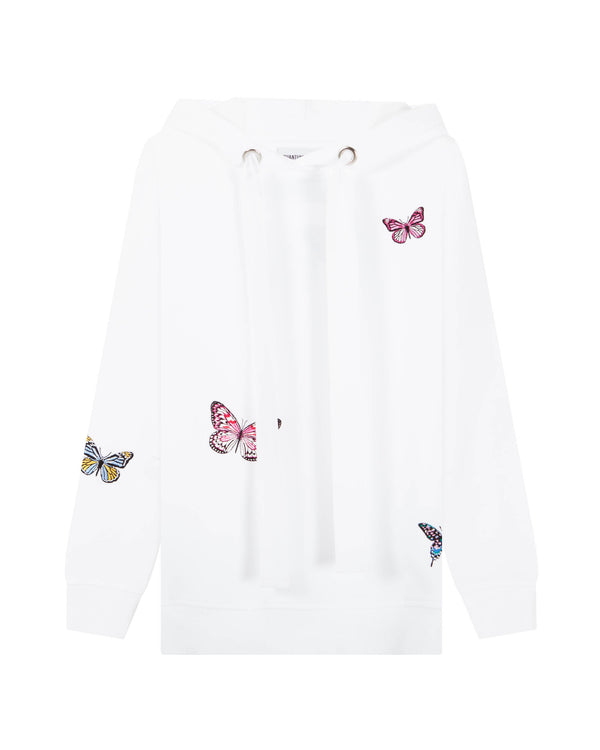 BUTTERFLY MADNESS LOOSE HOODIE