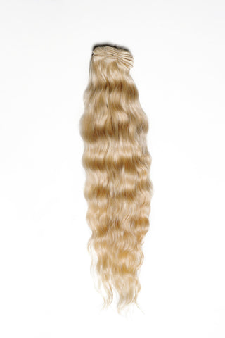 Raw Blonde Wavy Hair