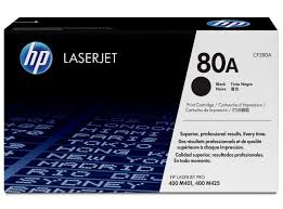 HP 80A Black Toner Cartridge, Standard (CF280A)