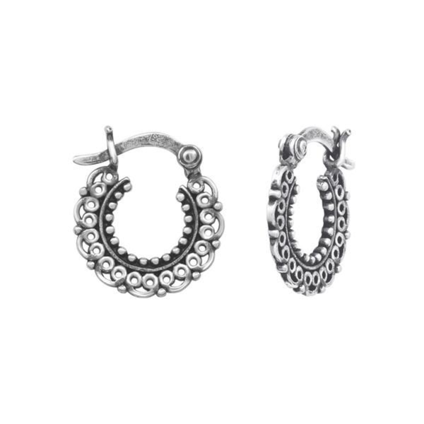 HOOPS EAR RINGS - HO032