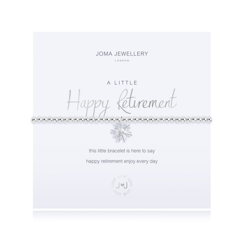Joma Jewellery A Little Happy Retirement Bracelet