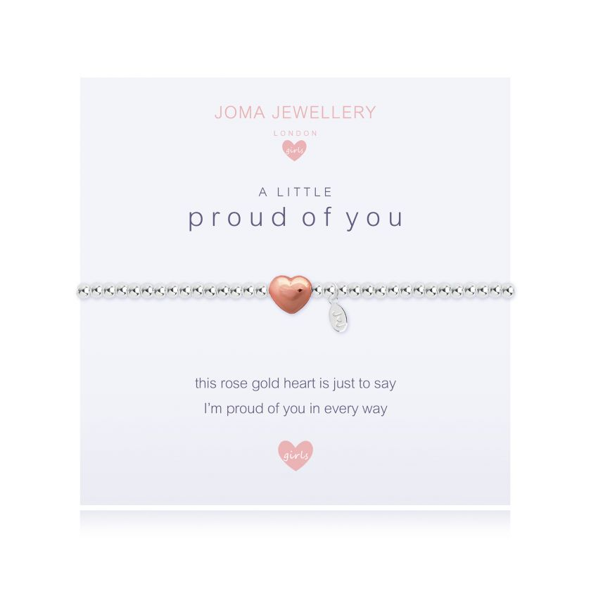 Joma Jewellery Children's A Little Proud of You Bracelet