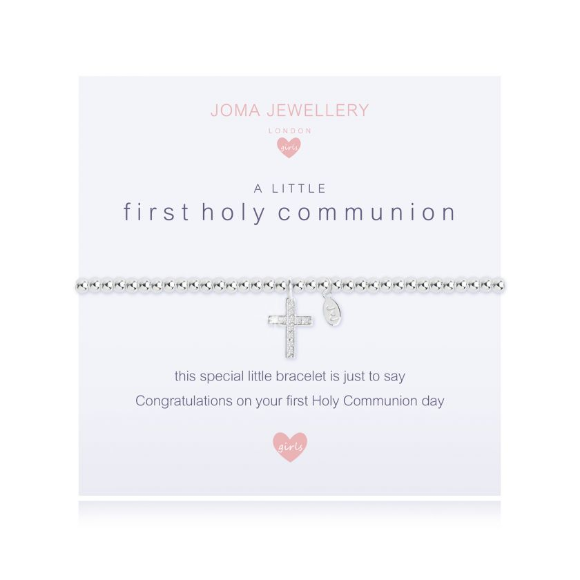 Joma Jewellery Children's A Little First Holy Communion Bracelet