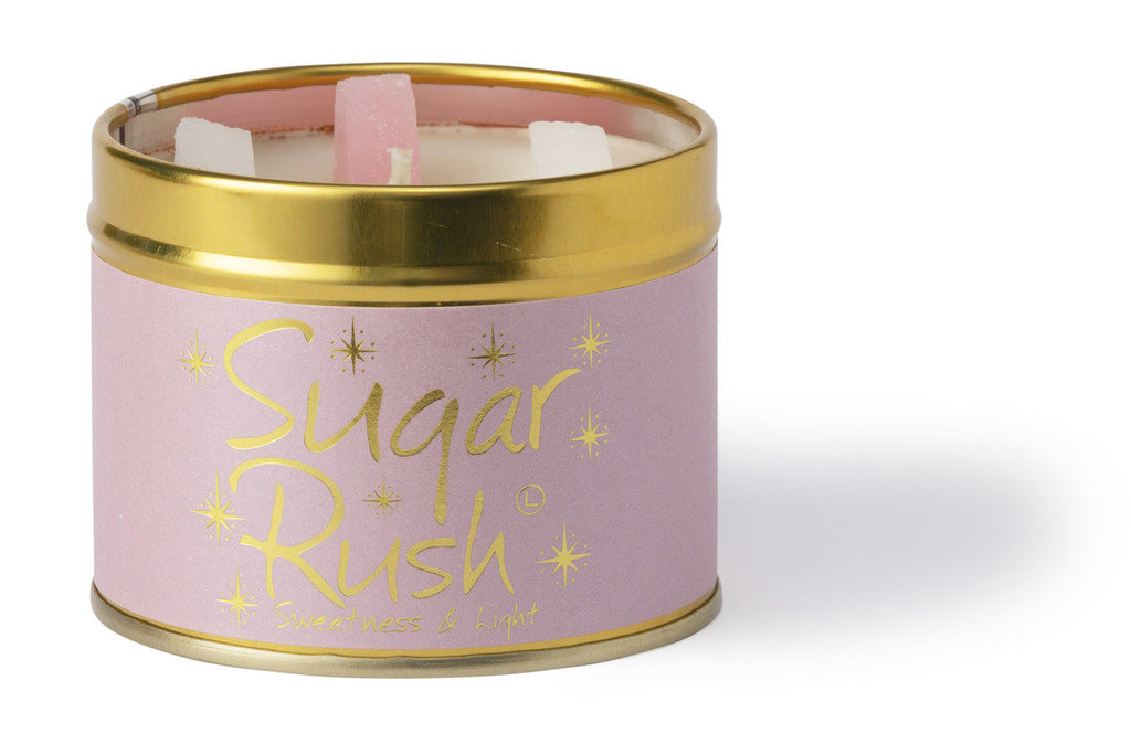 Lily Flame Candle Tin - Sugar Rush