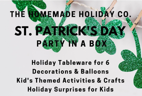 St. Patrick's Day Party Box