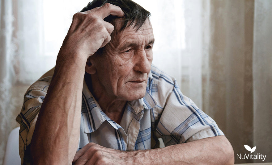 Old Man with Condition