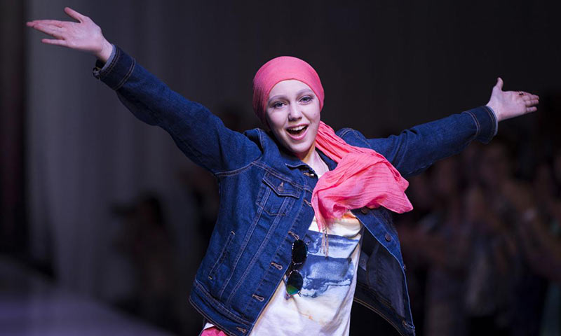 Bella Voelker is a positive example for other children experiencing the frightful challenges of cancer.