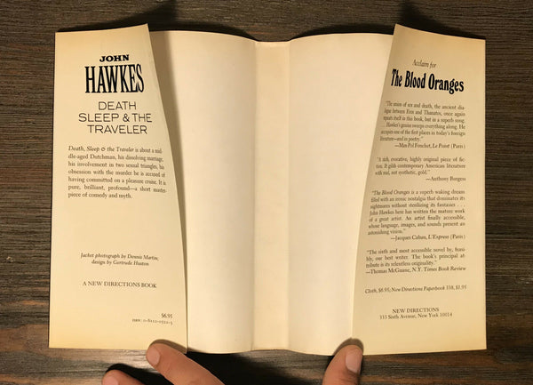 Death, Sleep & the Traveler, John Hawkes. 1st Ed George Plimpton's Review Copy.