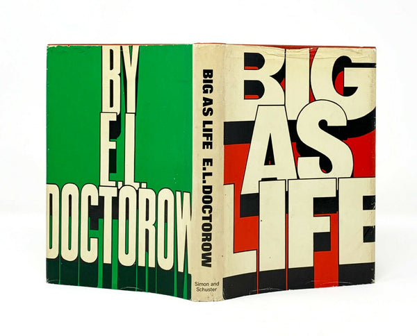 Big As Life, E.L. Doctorow. Signed First Edition, 1st Printing.