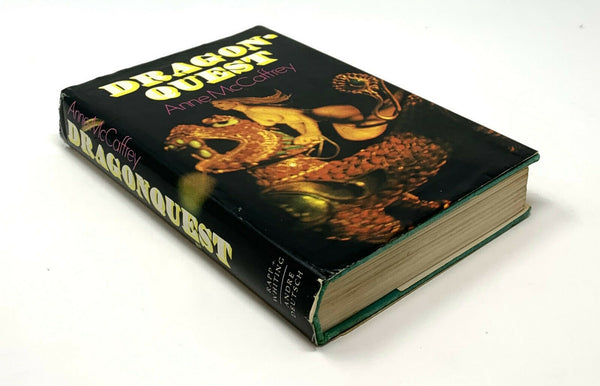 Dragonquest, Anne McCaffrey. First Hardcover Edition, First Printing.