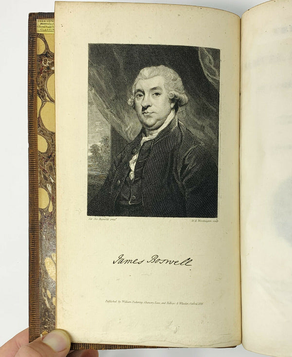 Life of Samuel Johnson, James Boswell. First Pickering Edition. 1826.