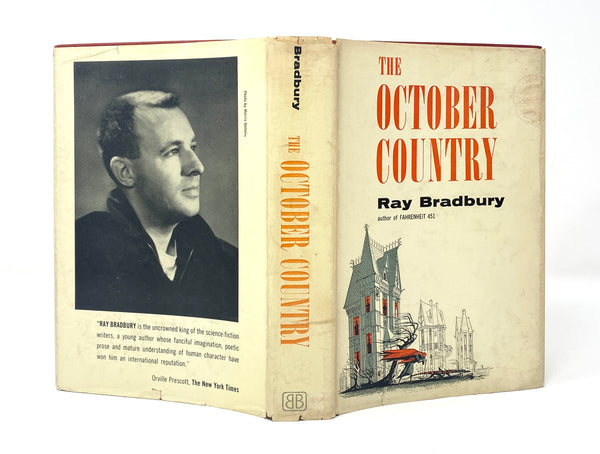 The October Country, Ray Bradbury. Signed and Inscribed First Edition, First Printing.