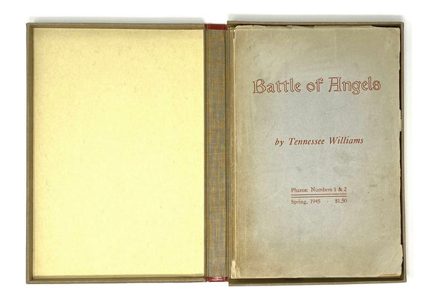 Battle of Angels, Tennessee Williams. Signed First Edition, 1st. Pharos ~ 1945.