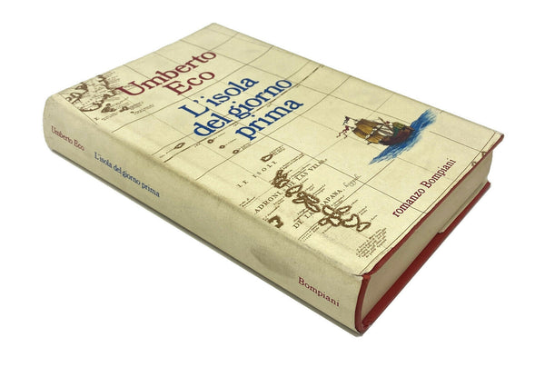 L'isola del giorno prima (The Island of the Day Before), Umberto Eco. Signed First Edition, First Printing.