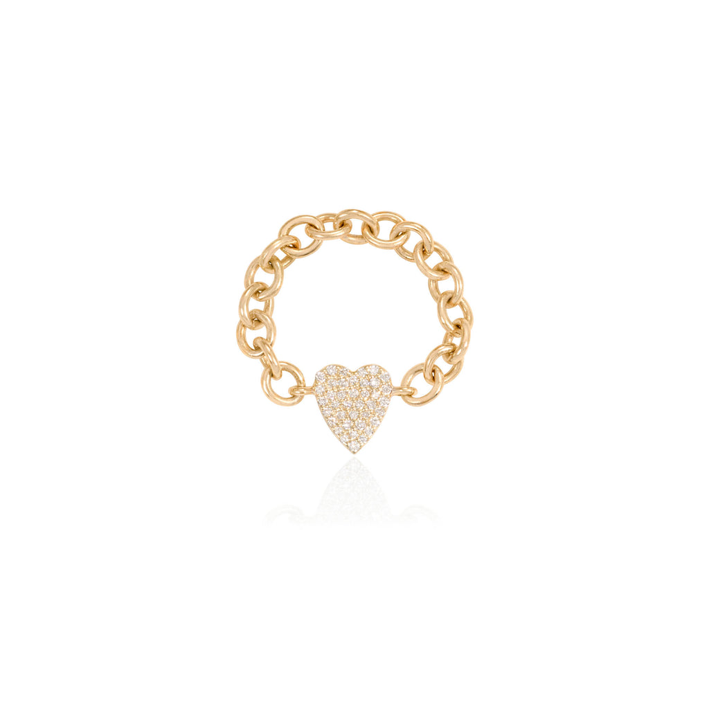 Amour Chain Ring