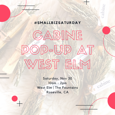 Cabine Pop-up at West Elm