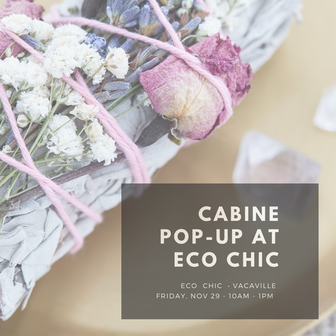 Cabine Pop-up at Eco Chic Vacaville