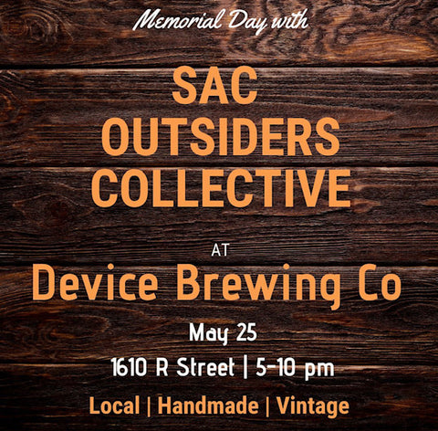 Cabine Pop-up with Sac Outsiders Collective