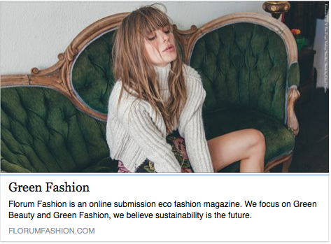 Florum Fashion Green fashion Index