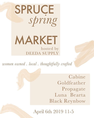 Spruce Spring Market at Deeda Supply