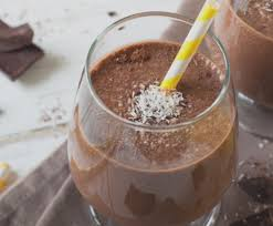 German Chocolate Cake Protein Shake