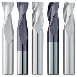 "(5 Pack) 5/64"" x 1/4"" x 1-1/2"" Standard Square Carbide End Mill - End Mill Store"