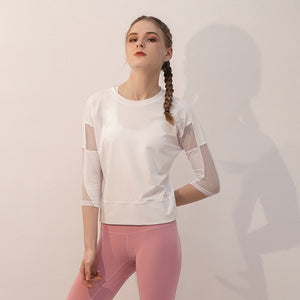 Hollow Out Sports Top
