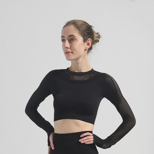 Vital Long Sleeve Yoga Top