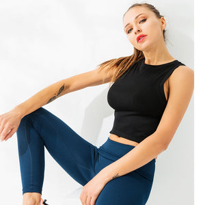 Breathable Sport Tank Yoga Top