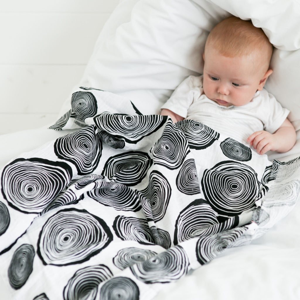 XL Muslins | Graphic Print | 0-4 Months | Etta Loves