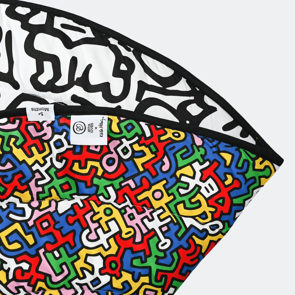 ETTA LOVES x KEITH HARING PLAYMAT- reversible newborn to 4 months / 5+ months