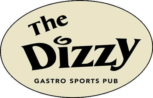 The Dizzy Gastro Sports Pub logo. Roncesvalles Village, Toronto