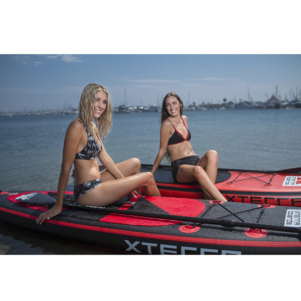10' Premium Black Inflatable SUP Demo Package