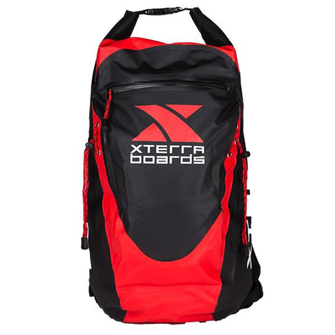 Red Waterproof Backpack