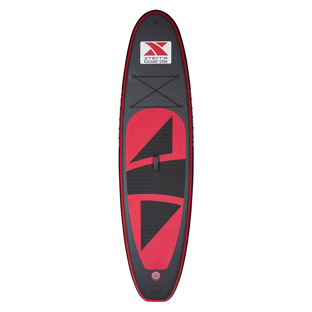 XTERRA BOARDS 10' Premium Black Inflatable SUP Package