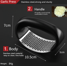 Load image into Gallery viewer, Stainless Steel Garlic Arc Mincer