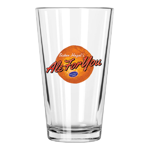 Ale For You Pint Glass