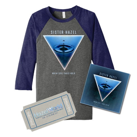 Livestream Ticket + Raglan T-Shirt + Patch